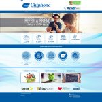 Chiphone CU Website Screenshot