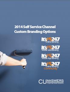 2014 Self Service Channel Custom Branding Options