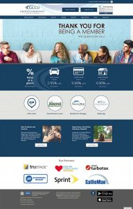 Gratiot Community Credit Union home page