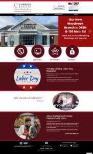 Cumberland County FCU home page