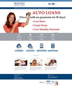 Printing Industries Credit Union home page