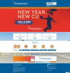 PrimeSource Credit Union website screenshot