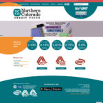Northern Colorado Credit Union Website Screenshot