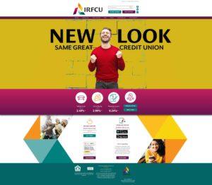Ingersoll-Rand FCU Website Screenshot