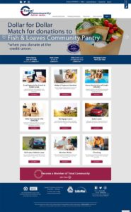 Total Community Credit Union Home Page