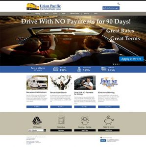 Union Pacific FCU home page